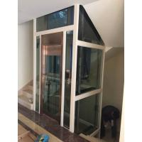 Machine room less home elevator lift with steel strap Homes with elevators for sale