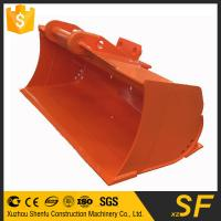 Buy cheap Direct supplier of excavator cleaning mud bucket with two cutting edges from wholesalers