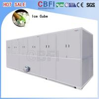 Buy cheap Stainless Steel Ice Cube Machine 10 Tons , Ice Maker Machine With LG Electrical Components from wholesalers