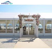 Buy cheap Waterproof Luxury Outside Event Marquee Tent With Decorations Anti - UV from wholesalers