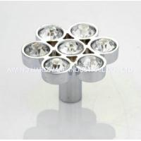 Buy cheap Modern Crystal Furniture Handles And Knobs , Zinc Alloy Decorative Drawer Pulls from wholesalers