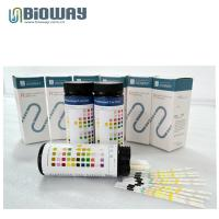 Buy cheap CE certified Medical false urine test strip in canister, urinalysis strip, visual urine strips, strip, urine analyzer from wholesalers