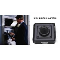 Analog 800TVL Hidden Cameras in Cars , Mini Pinhole ATM Spy Camera