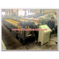 China Corrugated Steel & Aluminium Roofing Ridge Cap Step Tile Sheets Roll Forming Equipment for South Africa on sale