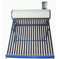 Buy cheap Home 18 Tubes 150L Compact Pre-heating Low Pressure Solar Water Heater from wholesalers