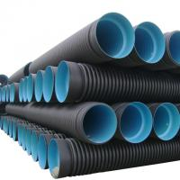 Buy cheap High quality and cheap corrugated high-density polyethylene (hdpe) pipe product