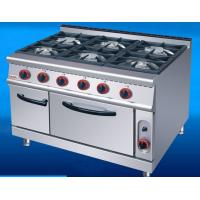 Buy cheap US-RQ-6 Commercial Kitchen Equipments Gas Range 6 Burner Gas Oven from wholesalers
