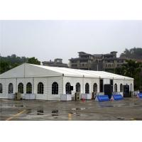 Buy cheap Clear Plastic  Wedding Party Tent  White Marquee 15 X 20m PVC - Coated Polyester Textile from wholesalers