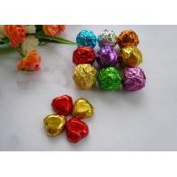 Buy cheap 100% Food Safe Coloured Foil For Wrapping Chocolates 8011 Embossed Aluminum Foil from wholesalers