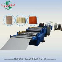 Buy cheap LZ-908 Pu sandwich panel, roof panel and wall panel production line from wholesalers