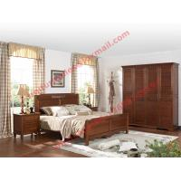 Buy cheap English Country Style Solid Wood Bed in Wooden Bedroom Furniture sets from wholesalers