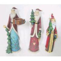 Buy cheap Polyresin Santa Claus and Christmas Gift from wholesalers