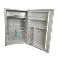 Buy cheap 198L solar display fridges, charged by panels directly with built-in lithium ion battery from wholesalers