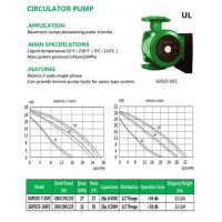 Buy cheap CIRCULATOR PUMP SGPD25-7.5SFC SGPD25-10SFC product