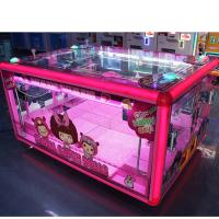 Buy cheap Box Shape Prize Vending Machine Grabber Dolls Toy Crane Claw Machine from wholesalers