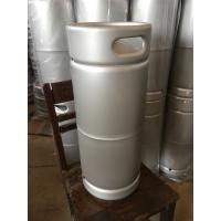 Buy cheap 5gallon US beer keg barrel type, stackable , 1/6 US keg made of stainless steel from wholesalers