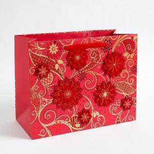 Buy cheap 157 Gram Art Paper Gift Bags Custom Printed  product
