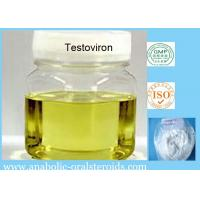 Buy cheap 58-22-0 Injectable Finished Yellow Liquid Testoviron / Testosterone Blend for Bodybuilding from wholesalers