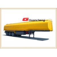 Buy cheap 45000 Liter Lpg Oil Tanker Heavy Duty Semi Trailer 3 Axles With Carbon Steel from wholesalers