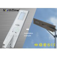Buy cheap Infrared Motion Sensor Solar Panel Street Lights Outdoor With Lithium Battery from wholesalers