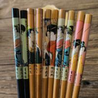 Buy cheap Popular World Bamboo Chopsticks Gift Chopsticks With Printing Logo from wholesalers