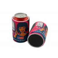 Buy cheap Promotional Custom Printed Insulated 5mm Tickness Neoprene Beer Can Cooler Sleeve from wholesalers