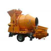 Buy cheap Cement pumping machine towable 40m3/h hydraulic small concrete mixer pump for sale from wholesalers