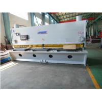 Buy cheap Motor Power 7.5kw Hydraulic Shearing Machine Cutting Angle 0.5 - 3.5° from wholesalers