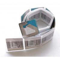 Buy cheap 30*30mm Loss Prevention Anti Theft Reliable RF Label 8.2MHz Electronic Shelf Label EAS Garment Label  -30*30mm from wholesalers
