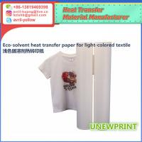 Buy cheap 0.5m*30m light color eco solvent PU wholesale factory made roland mimaki printer heat transfer vinyl from wholesalers