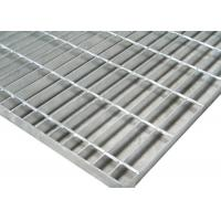 Buy cheap 1m*6m Galvanized 19w4 Steel Grid Plate Bar Grating Weight For Fixed Platform from wholesalers