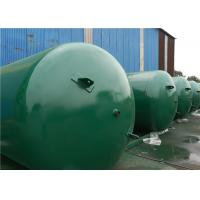 Buy cheap ASME Approved Horizontal Air Receiver Tanks For Air Compressors Systems from wholesalers