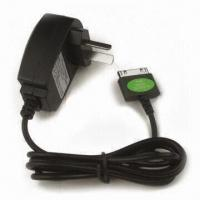 Buy cheap Travel Charger for iPhone 3GS/4G with 100 to 240V AC Input and LED Power Indicated Display from wholesalers