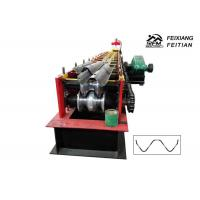 Buy cheap Professional Highway Guardrail Roll Forming Machine 2 / 3 Waves Guardrail Machine from wholesalers