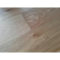 Buy cheap invisible lacquer oak engineerd parquet flooring, super matt finishing from wholesalers
