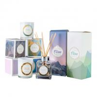 Buy cheap HOT Selling scented candles & reed diffuser fragrance gift set with glass bottle from wholesalers