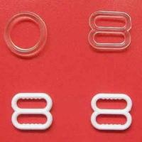 Buy cheap Bra Plastic Ring and Sliders in White product