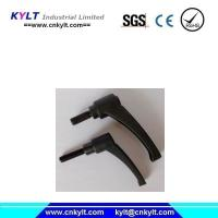 Buy cheap Aluminum Injection Moulding Handle with plastic molding knob from wholesalers