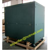 Buy cheap house cover transformer oil regeneration system, vacuum oil purification plant,weather-proof,dust-proof enclosure from wholesalers