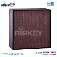 Buy cheap Clean Room Products Fiber Glass Hepa Filters from wholesalers