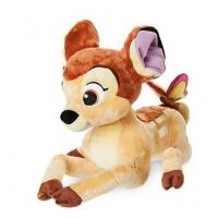 Buy cheap Bambi with Butterfly Medium Disney Store Soft Toys 25cm Size Brown Color from wholesalers