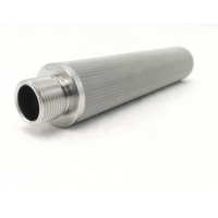 Buy cheap 316L Cylindrical Cartridge Woven 2mm Stainless Steel Filter Mesh from wholesalers