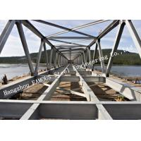 Buy cheap Prefabricated Q355 Steel Modular Steel Bailey Bridge Galvanized For Traffic Construction from wholesalers