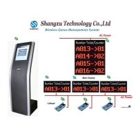 Buy cheap Multiple Style Unicode Web Based Queue Ticket Machine from wholesalers