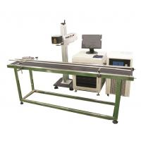 Buy cheap Production line Fiber Laser Marking Machine for Brass, Copper Materials from wholesalers