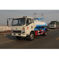 Buy cheap Vacuum Dirt Sewage Suction Truck Cleaning Vehicle Garbage Truck 6M3 sinotruck howo red or yellow from wholesalers