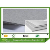 Buy cheap SGS Certified Hardcover Book Grey Board / Straw Board Paper Rigid Mixed Pulp from wholesalers