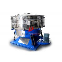 Buy cheap Low Acceleration Abrasive Material Round Swing Tumbler Screen With No Mesh Plug from wholesalers