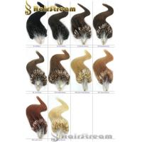 Buy cheap Loop Mirco Ring Hir Extension Color 1 2 4 613 1g/pc 20 22 Keratin Loop Hair Extension from wholesalers