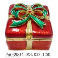 Buy cheap 2014 Newly Design Lovely Christmas Jewelry Box For Ladies Gift from wholesalers